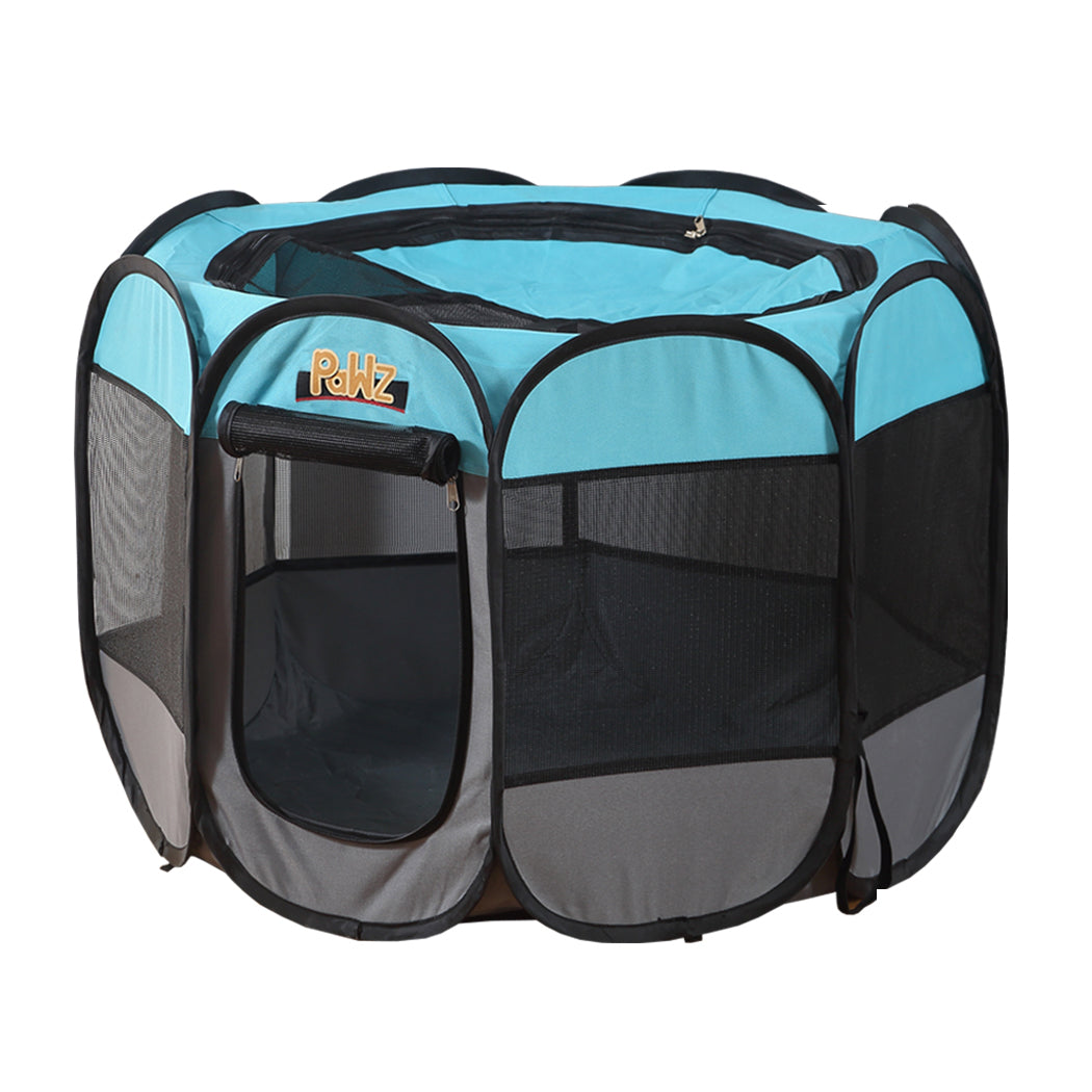 PaWz Dog Playpen Pet Play Pens Foldable Panel Tent Cage Portable Puppy Crate 52