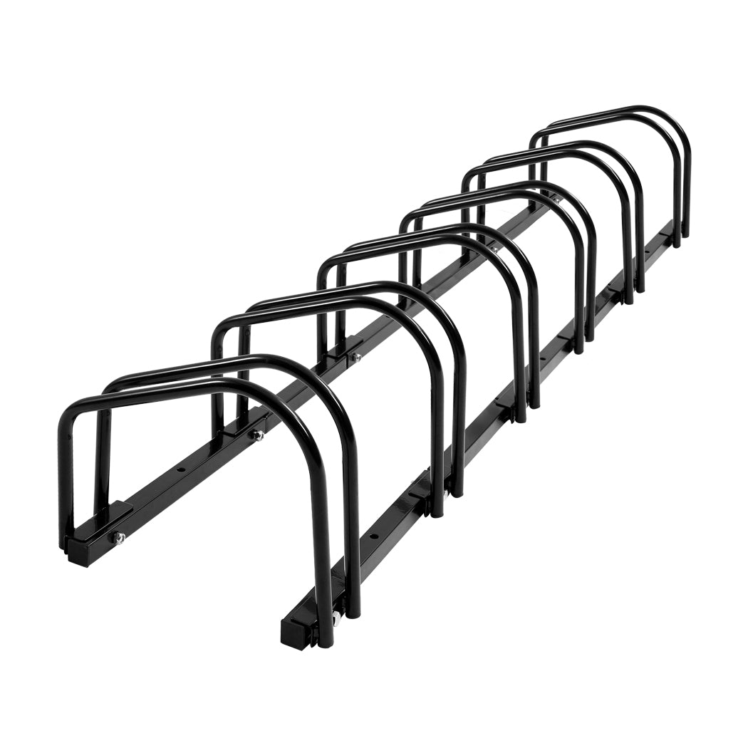 6-Bikes Stand Bicycle Bike Rack Floor Parking Instant Storage Cycling Portable