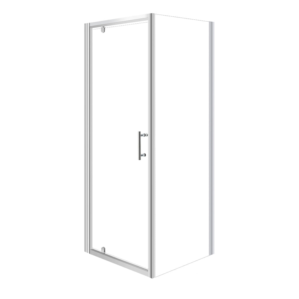 Levede Bath Shower Enclosure Screen Seal Strip Glass Shower Door 760x760x1900mm