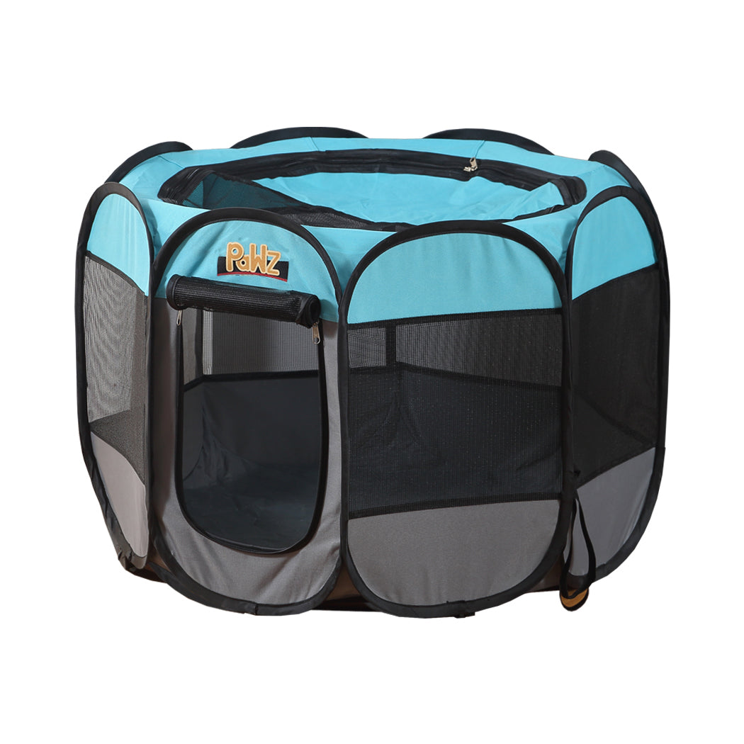 PaWz Dog Playpen Pet Play Pens Foldable Panel Tent Cage Portable Puppy Crate 36