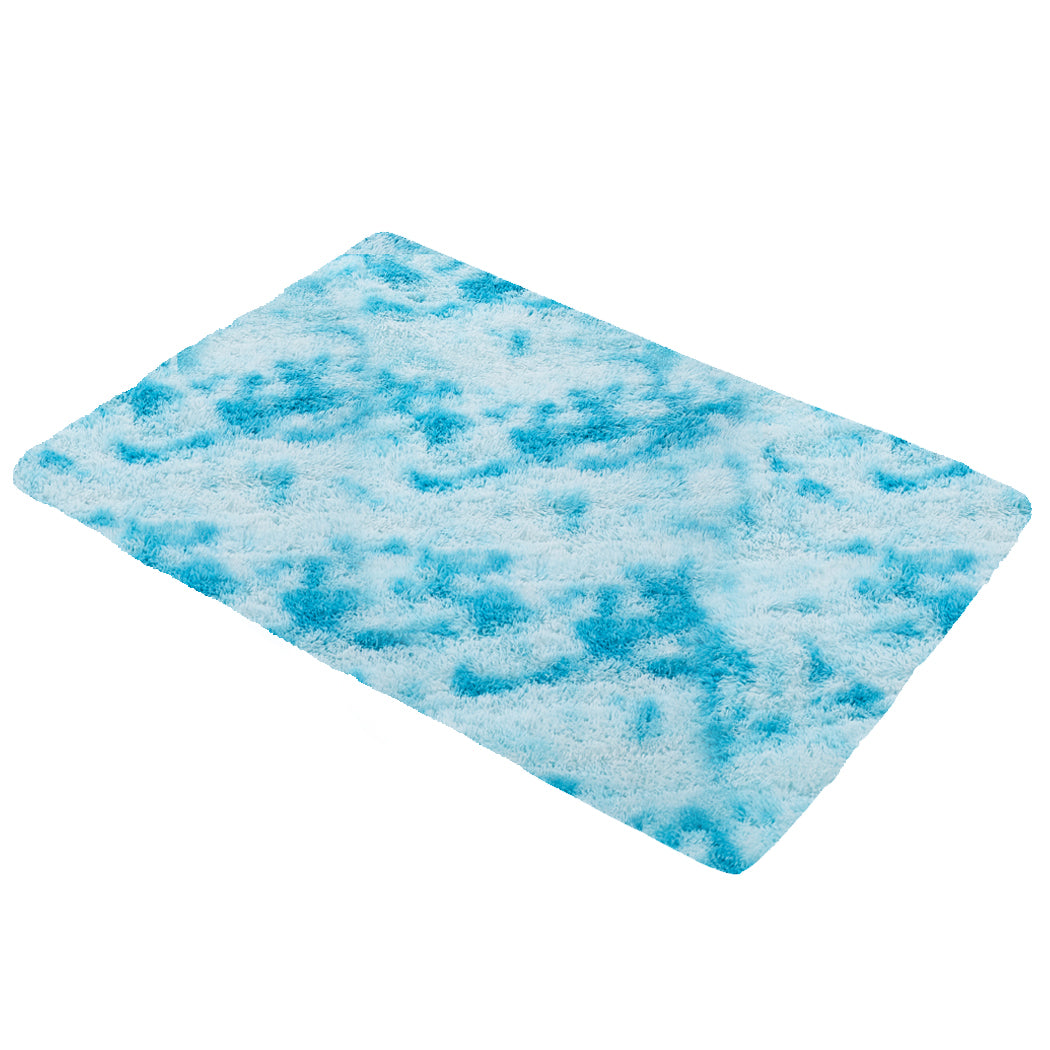 Floor Rug Shaggy Rugs Soft Large Carpet Area Tie-dyed Maldives 160x230cm