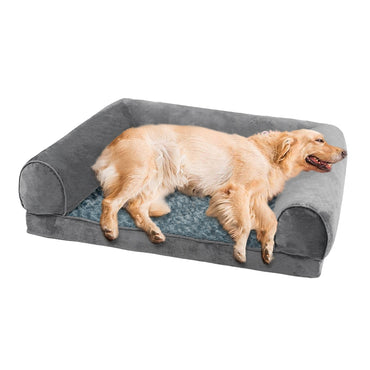 Pet Dog Bed Sofa Cover Soft Warm Plush Velvet L