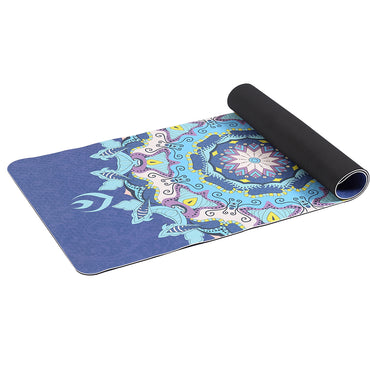 TPE Yoga Mat Dual Layer Non Slip Pad Eco Friendly Exercise Fitness Pilate Gym Type 2