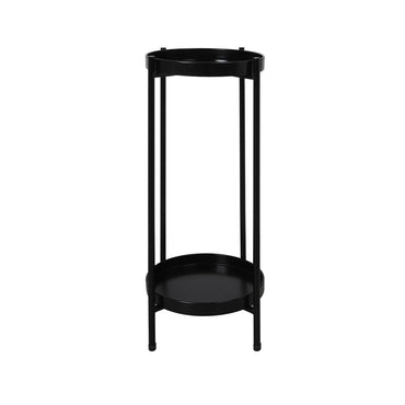 Levede 2 Tier Plant Stand Outdoor Indoor Metal Flower Pot Rack Garden Shelf