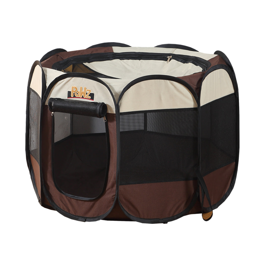 PaWz Dog Playpen Pet Play Pens Foldable Panel Tent Cage Portable Puppy Crate 42