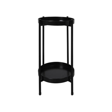 Levede 2 Tier Plant Stand Metal Flower Pot Rack Garden Shelf Outdoor Indoor