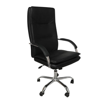 Office Chair Gaming Chairs Racing Executive PU Leather Seat Executive Computer Black