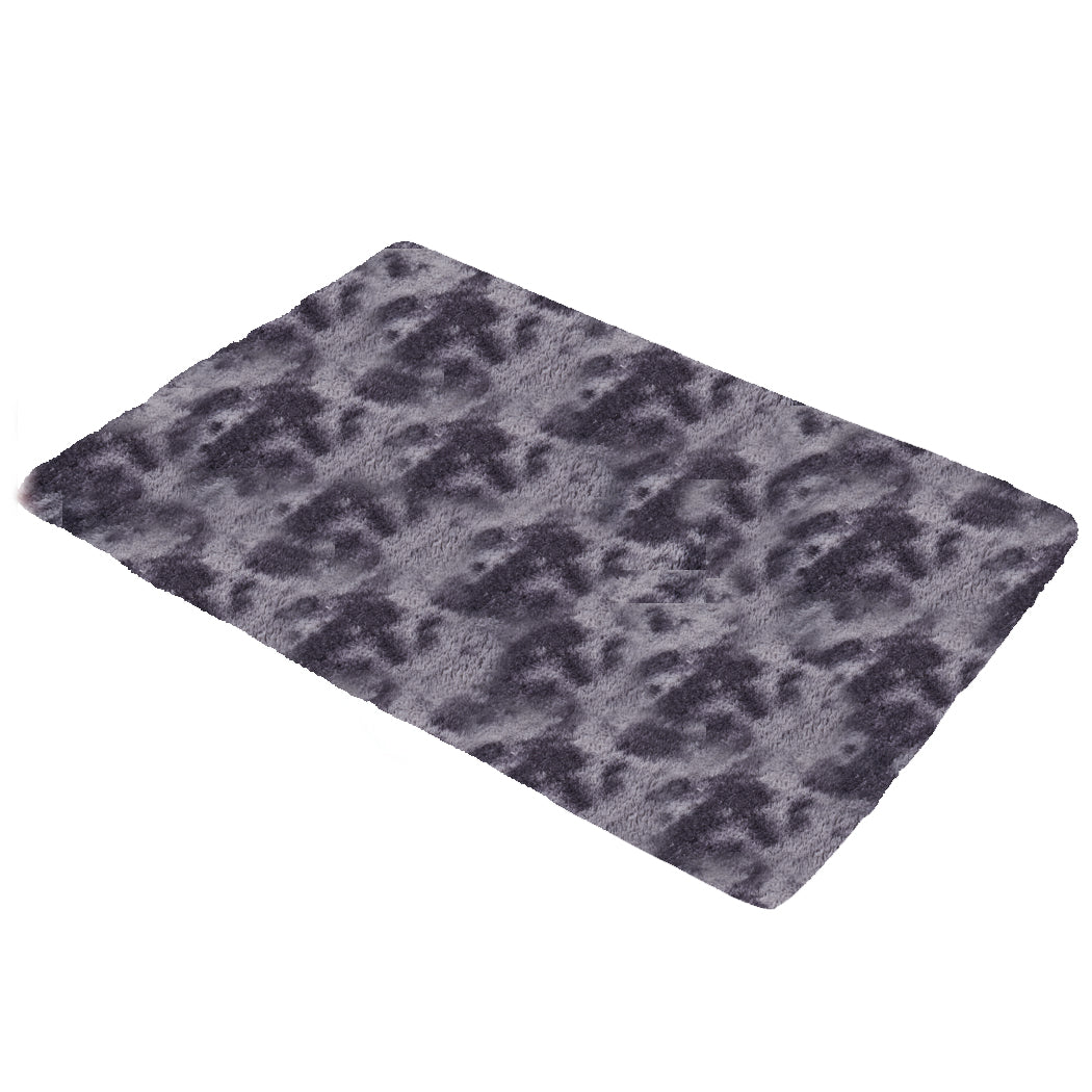 Floor Rug Shaggy Rugs Soft Large Carpet Area Tie-dyed Midnight City 160x230cm