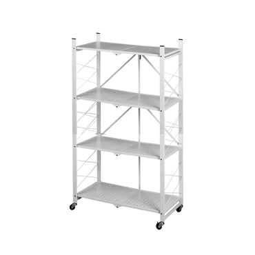 Foldable Shelf Display Storage Rack Bookshelf Bookcase Organiser Kitchen Bedroom