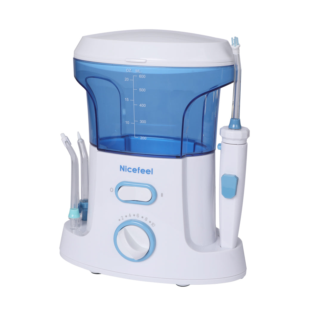 Electric Oral Irrigator Tooth Cleaner Kit Water Jet Dental Teeth Flosser Pick