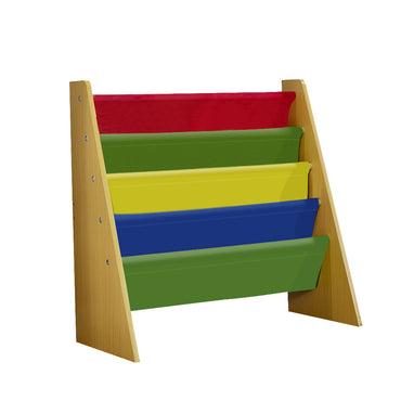 Levede Wooden Kids Children Bookcase Bookshelf Toy Organiser Storage Bin Rack