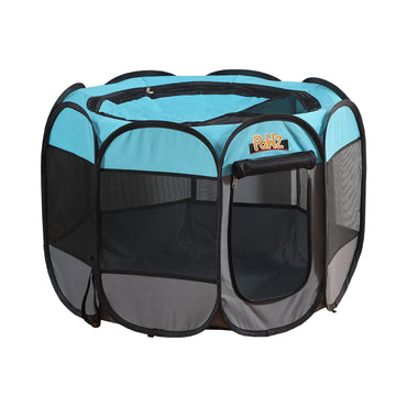 PaWz Dog Playpen Pet Play Pens Foldable Panel Tent Cage Portable Puppy Crate 36""