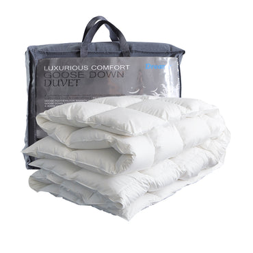 DreamZ 700GSM All Season Goose Down Feather Filling Duvet in King Size