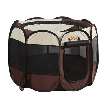 PaWz Dog Playpen Pet Play Pens Foldable Panel Tent Cage Portable Puppy Crate 52""