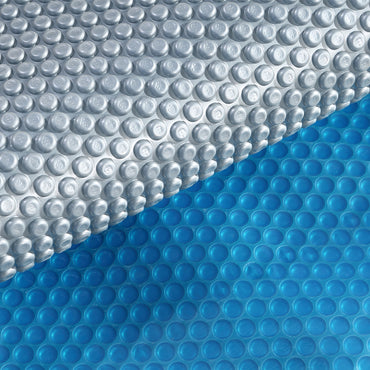 9.5x5M Real 400 Micron Solar Swimming Pool Cover Outdoor Blanket Isothermal