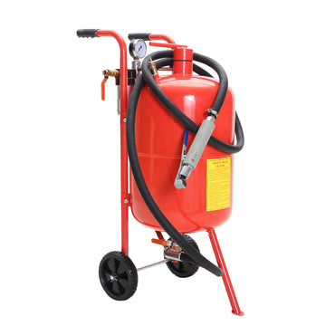 Sandblaster Air Sand Blaster 10 Gallon Portable Steel Pressure Washer  Surface Cleaner