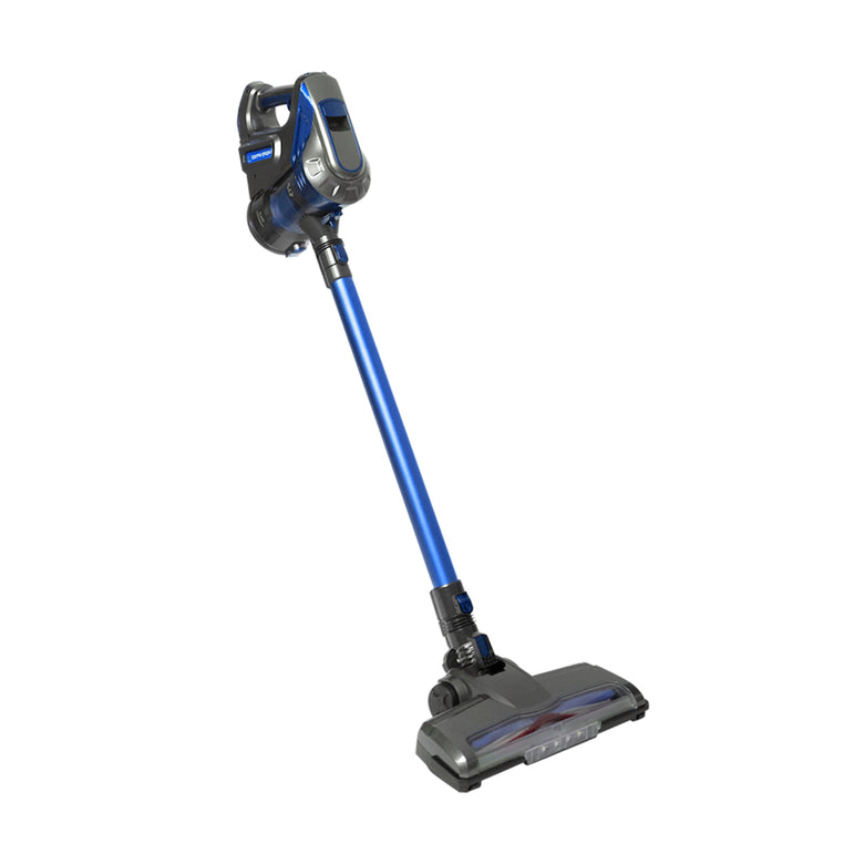 150W Handheld Vacuum Cleaner Cordless Stick Vac Bagless Rechargeable Wall Mounted Blue