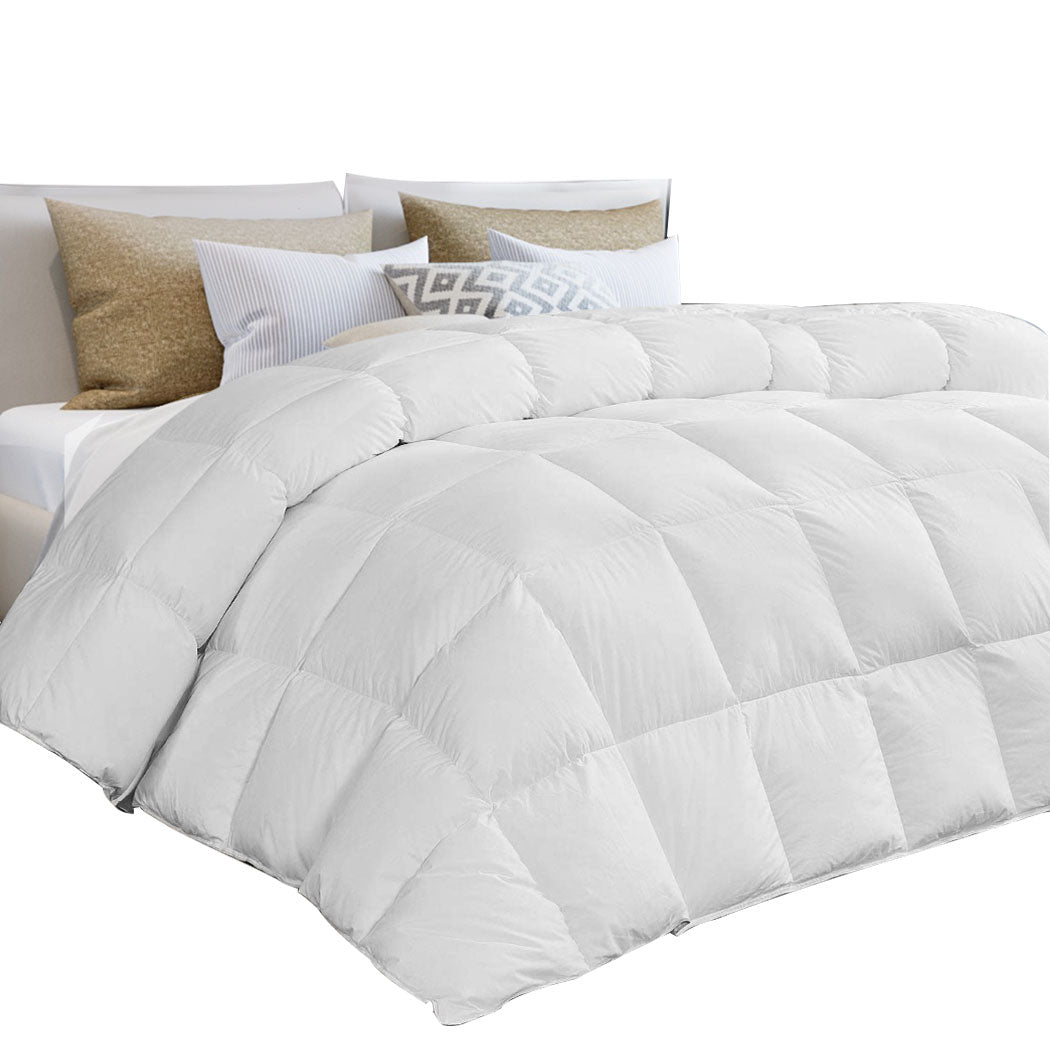 DreamZ All Season Quilt Siliconized Fiberfill Duvet Doona Summer Winter King