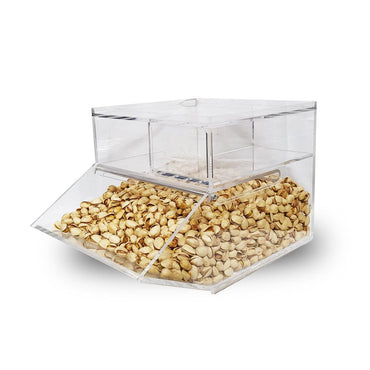 Premium Quality Acrylic Candy Bin Countertop Compartment 15L 6mm