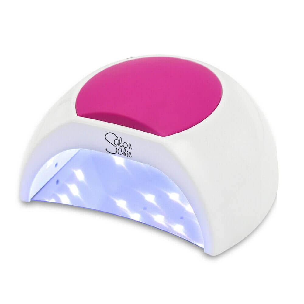 Salon Chic 48W LED UV Nail Lamp Light Gel Polish Dryer Manicure Art Curing White