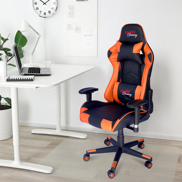 RAYDUS Gaming Racer Chair Orange