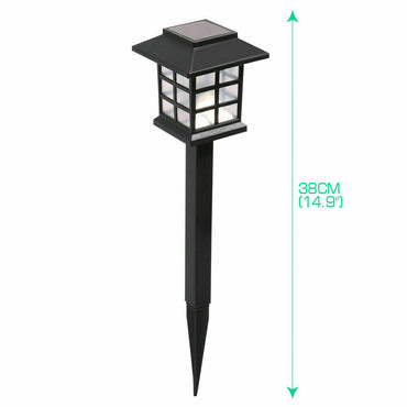 12x LED Solar Power Garden Landscape Path Lawn Lights Yard Lamp Outdoor Lighting