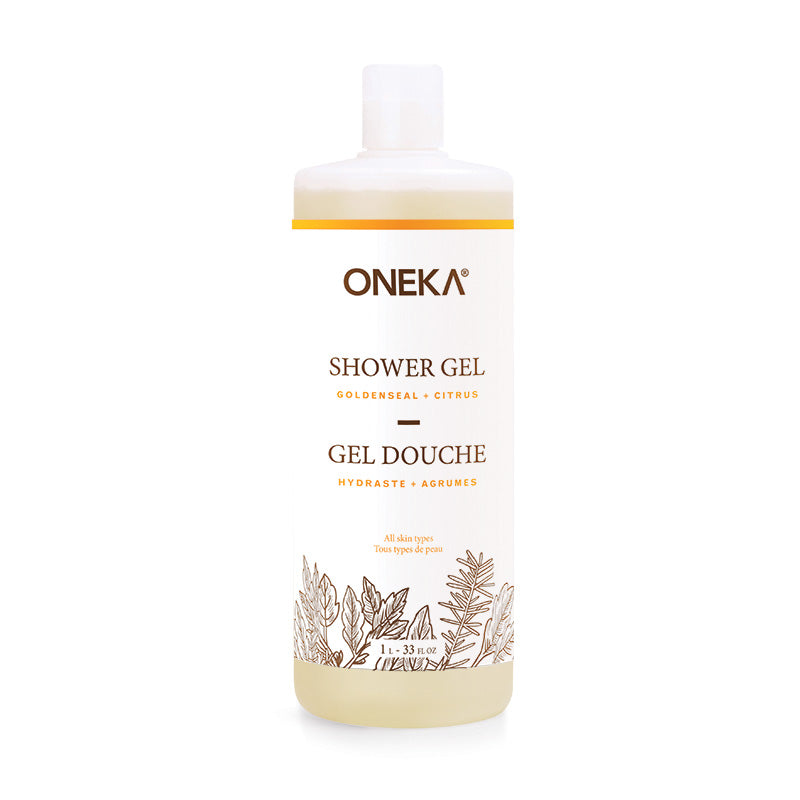 Goldenseal & Citrus Shower Gel