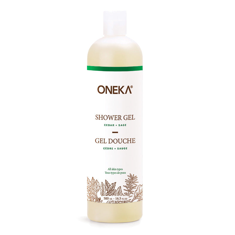 Cedar & Sage Shower Gel
