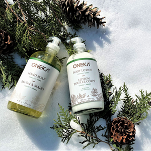 Cedar & Sage Lotion and Hand Soap Duo