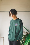 【9/6(日)21:00-受注販売 】 9090×CMT×APARTMENT hamburger&rat long T(フォレストグリーン)【original】
