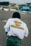 【7/12 21:00- 受注生産】Close the Distance Tee yellow【original】
