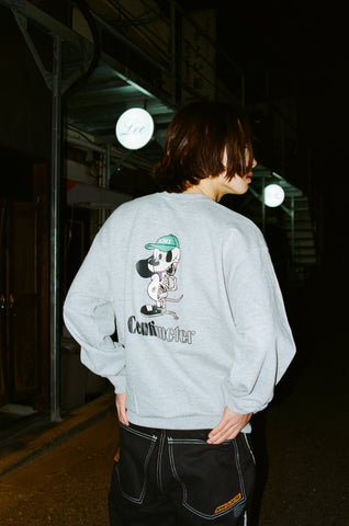 [2/27(土)21:00-]centimeter bone ruler sweat(ミックスグレー)【original】