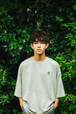 【8/8 21:00 販売開始】ruler-kun green patch t-shirts(くすみグリーン)【original】