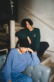 【9/6(日)21:00-受注販売 】 9090×CMT×APARTMENT hamburger&rat long T(くすみブルー)【original】