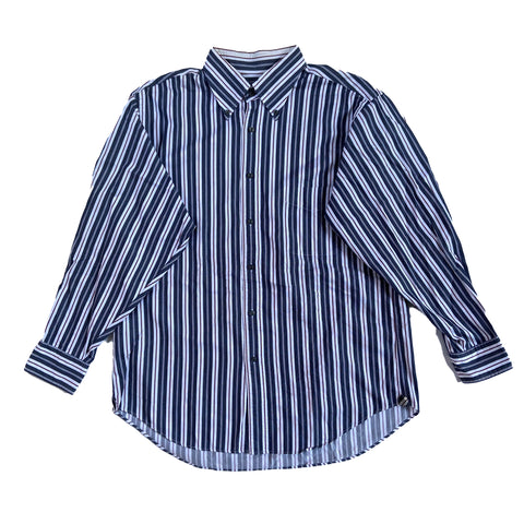 NEWYORKER stripe shirts【used】