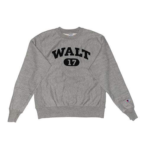 champion reverse weave WALT logo sweat【used】