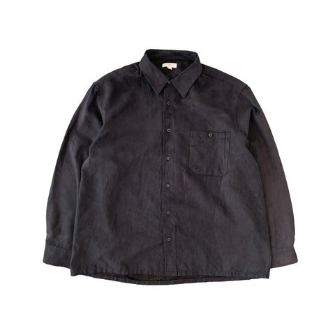 Light Black  Suede Shirt【used】