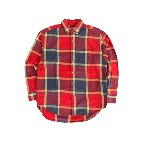 GAP Check Shirt【used】