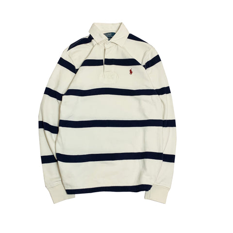 Polo by RALPH LAUREN  White Rugby Shirt【used】