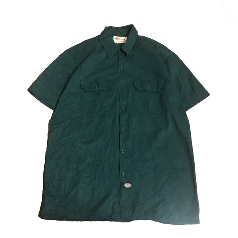 Dickies Green Work Shirt【used】