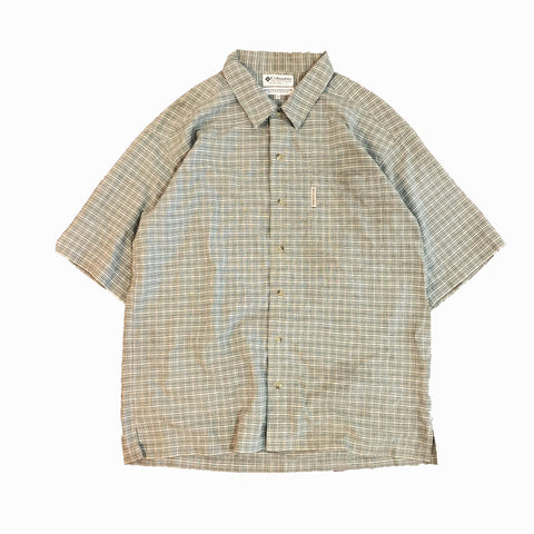 Columbia Green Check Shirt【used】
