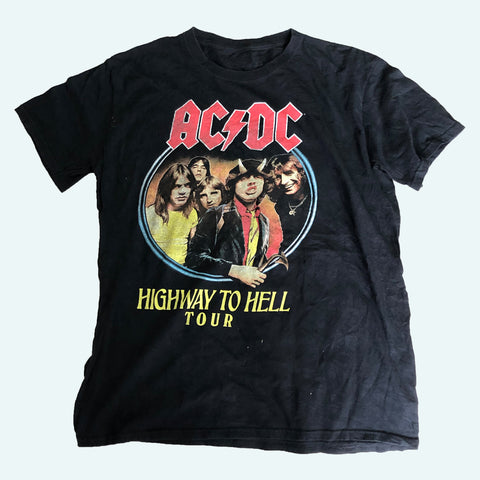 ACDC Band T-Shirt【used】