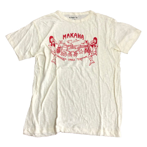 【パキ綿】Makaha Beach T-Shirt【used】