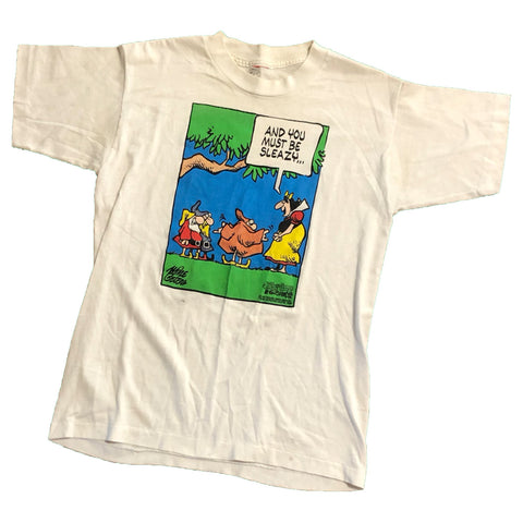 Speech Bubbles Character T-Shirt【used】
