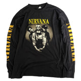 Nirvana Long Sleeve(Black)T-Shirt【used】