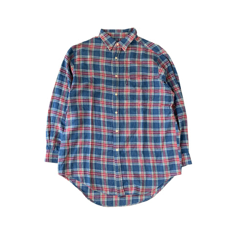 GAP Blue Check Shirt【used】