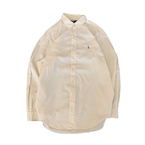 POLO by RALPH LAUREN White Shirt【used】