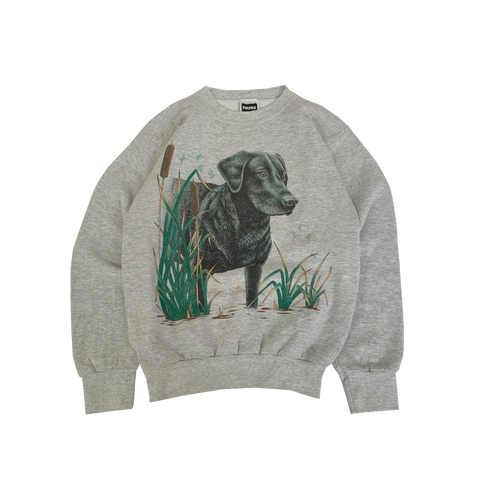 Dog Print sweat【used】