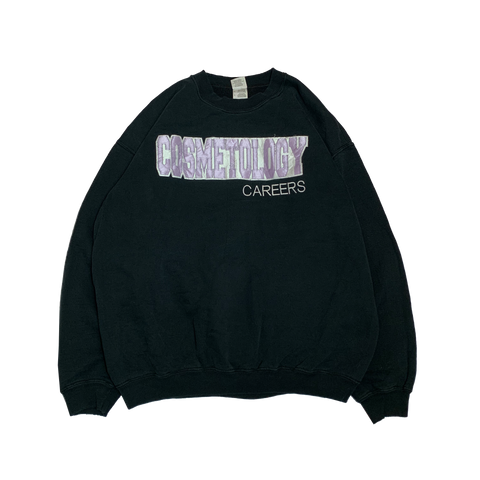 COSMETOLOGY Black Sweat【used】