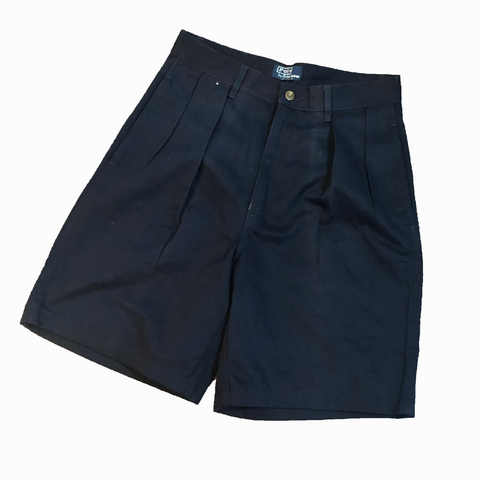 Polo Chino Navy Shorts【used】